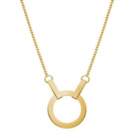 Kali necklace short goldplated