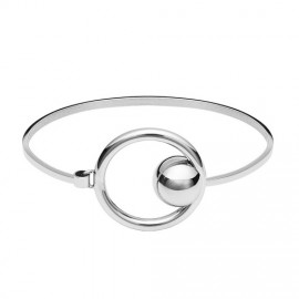 Armband circel silver
