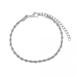 Armband Twist zilver