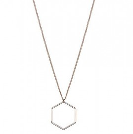 Hexagon ketting