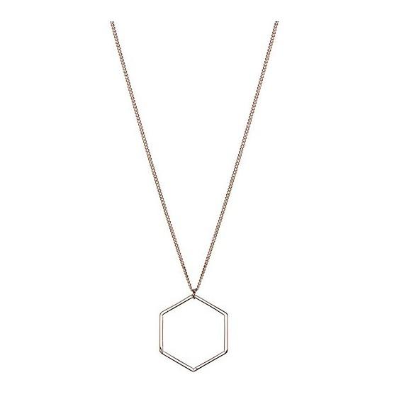 Hexagon ketting