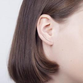Gouden oorklimmers buis