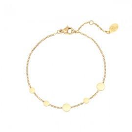 Gouden armband rondjes